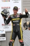Martin Cardenas Race 1 Podium Celebration
