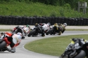 Martins Cardenas leads exiting the carousel - Road America